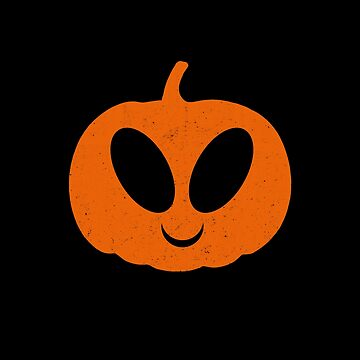 Alien Pumkin Halloween by DeLaFont