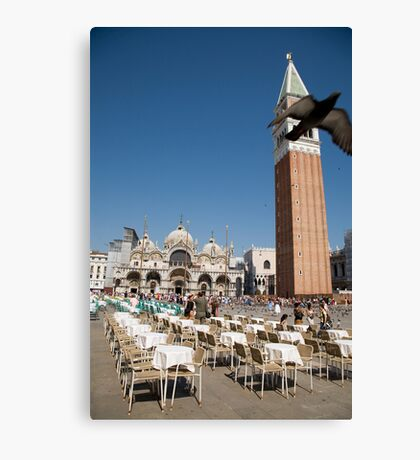 Saint Markos Square, Venice, Italy Canvas Print