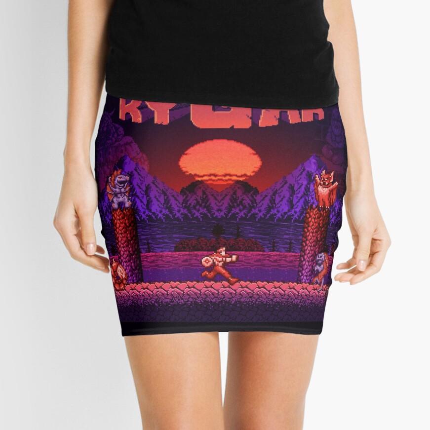 Legendary Warrior Mini Skirt
