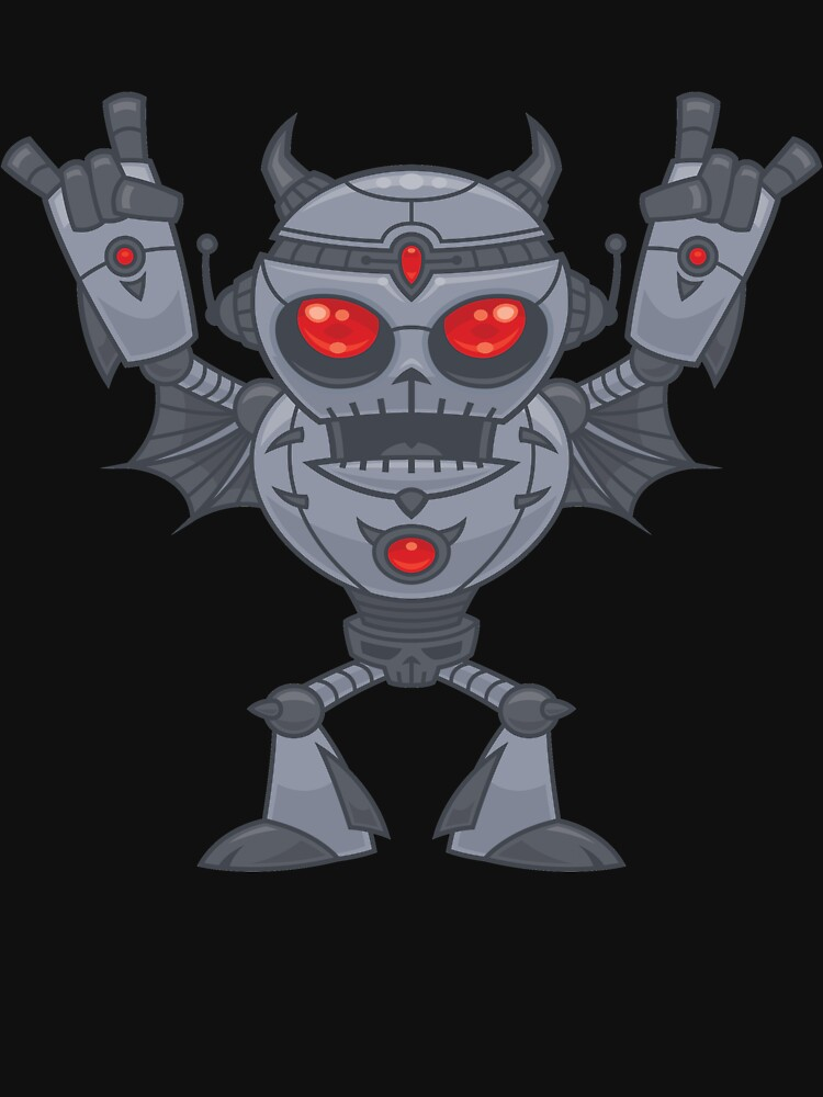 Metalhead - Heavy Metal Robot Devil by fizzgig