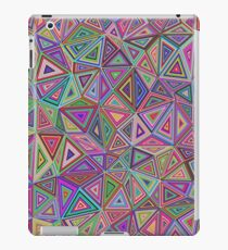 60's inspired Print | Abstract Print Pattern | Retro Triangle Pattern  iPad Case/Skin