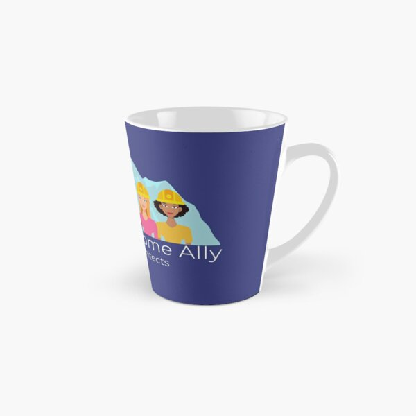 Awesome Ally Transparent - White Text Tall Mug