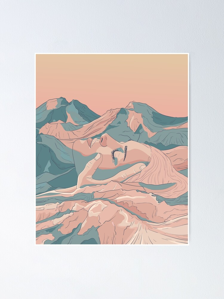Alternate view of I Saw Her Face In The Mountains Poster