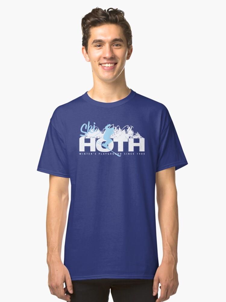 WINTER GETAWAY Classic T-Shirt Front