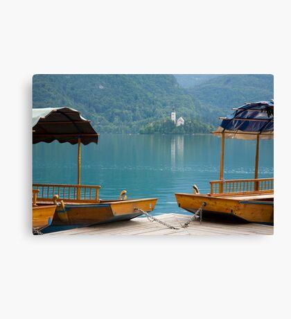 Bled Lake, Slovenia Canvas Print