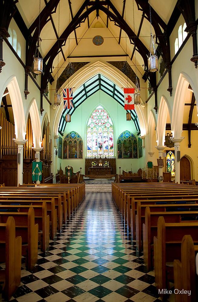 Interior Trinity Anglican Church Cornwall Ontario by