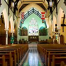 Interior, Trinity Anglican Church, Cornwall, Ontario by Mike Oxley