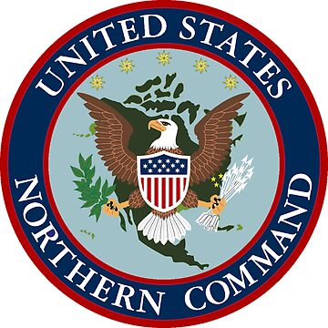 United States Northern Command (USNORTHCOM) Shield by Spacestuffplus