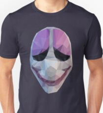 Houston Maske Zahltag Slim Fit T-Shirt