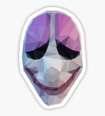 Houston Mask Payday Sticker