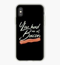 You Had Me at Bacon Brunch Breakfast iPhone Case