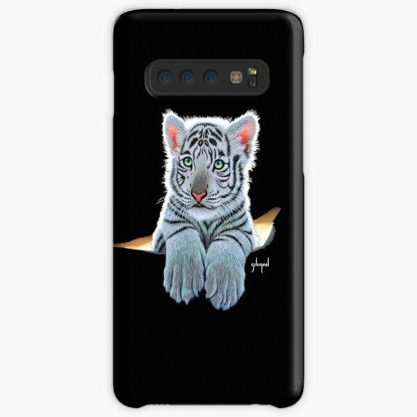 White Tiger Cub, tiger inside Samsung Galaxy Snap Case
