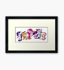 Adorable Friendship Framed Print