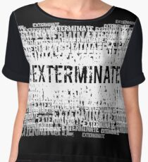 Exterminate 2 Chiffon Top