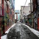 Graffiti Alley Toronto 2 by Jason Dymock Photography