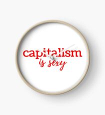 Capitalism is Sexy Clock