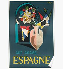Art Arabe in Spain Poster