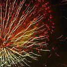 Fireworks 3 by Yvonne Carsley