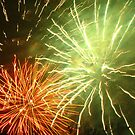 Fireworks 4 by Yvonne Carsley