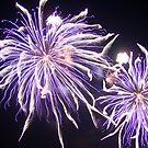 Fireworks 5 by Yvonne Carsley