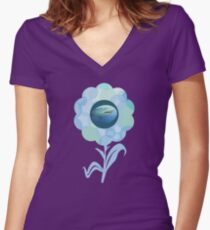 f04b06e25e07 Beautiful but Deadly Women s Fitted V-Neck T-Shirt