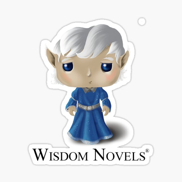 Wisdom Novels® Character Sticker Sticker