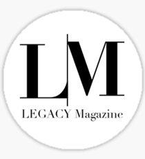 LEGACY Magazine  Sticker