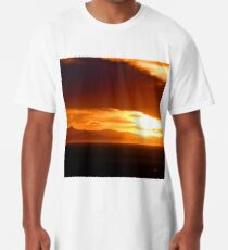 Blanca Sunset, Looking West Long T-Shirt