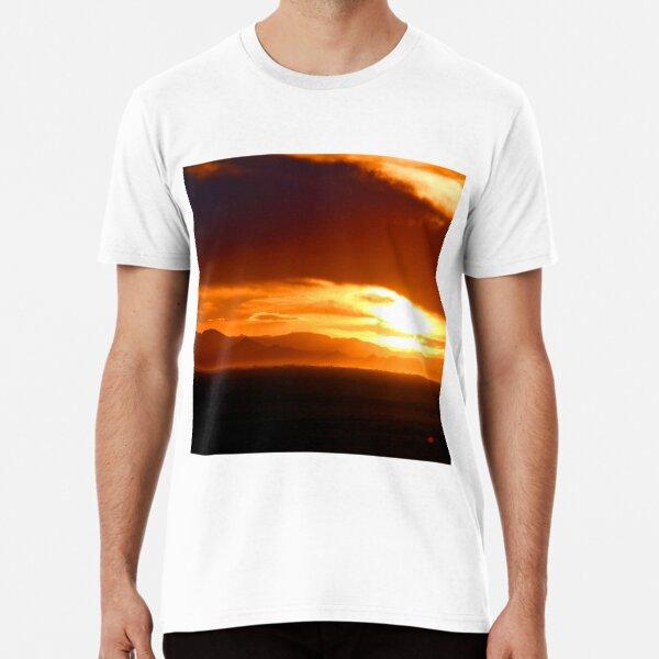Blanca Sunset, Looking West Premium T-Shirt