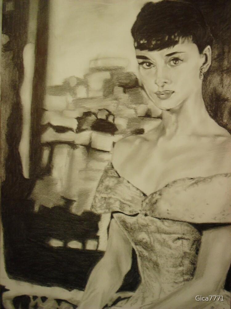 Audrey Hepburn by Gica7771