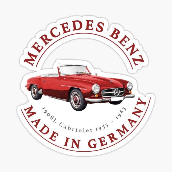 Mercedes Benz - Hecho en Alemania Pegatina