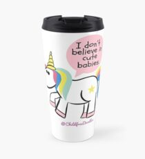CHILDFREE UNICORN Travel Mug