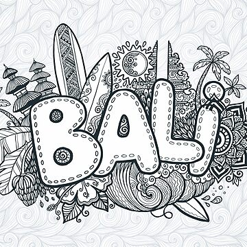 Bali doodle by 1enchik