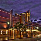 Rainy Night at the Theater by Gene  Tewksbury