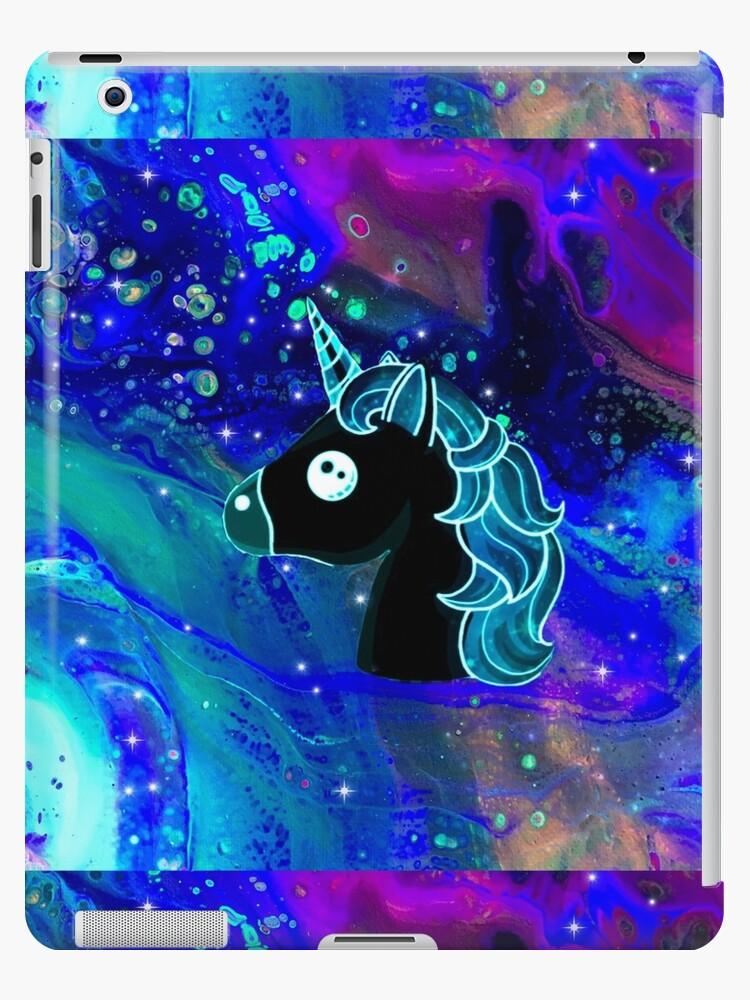 Abstract Art Unicorn Head