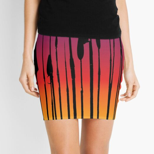 Sunset spears Mini Skirt