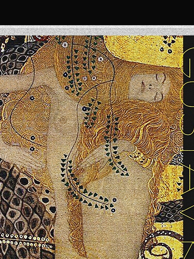 Portrait in Gold and Black ... by Gustav Klimt by edsimoneit