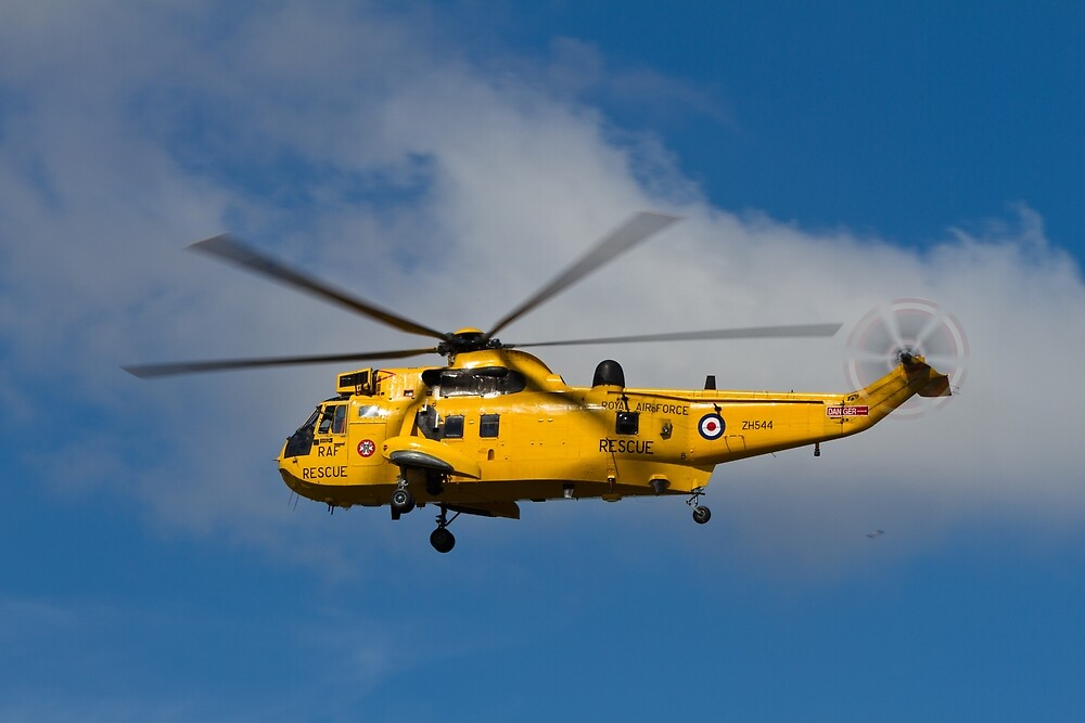 RAF Search and Rescue Sea King by LeadingEdgePics