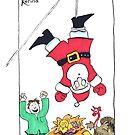 Santa Caught by Kerina Strevens