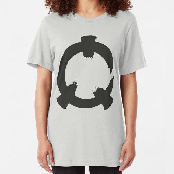 Reflex - Grey Logo Slim Fit T-Shirt