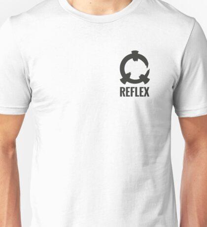 Reflex - Grey Logo + Text T-Shirt