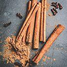 Cinnamon and anise art #food #stilllife by JBJart