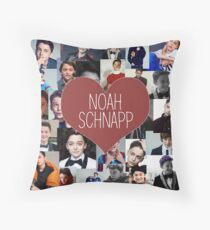 Noah snap collage Throw Pillow