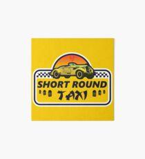 Short Round Taxi Art Board