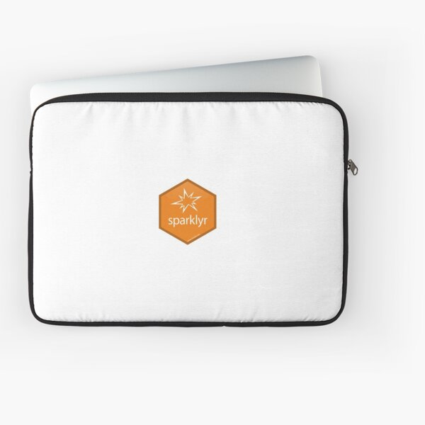 R Sparklyr Logo Laptop Sleeve