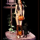 Pumpkin Witch by Jennifer M Gann