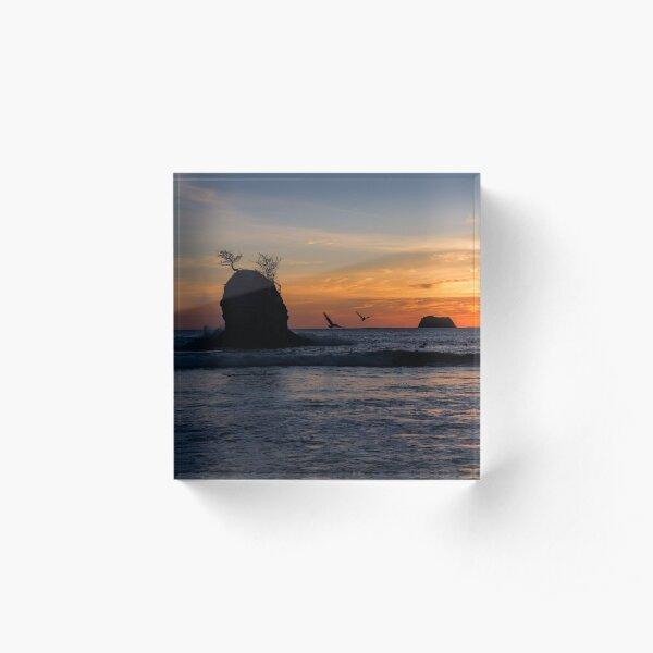 Carrillo Sunset Acrylic Block