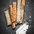 Breadsticks art #food #stilllife by JBJart