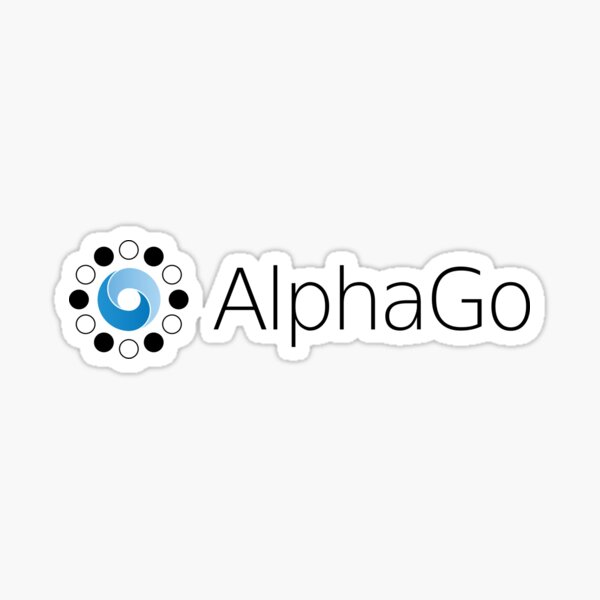 AlphaGo DeepMind Logo Sticker