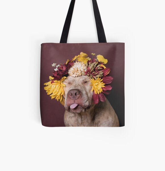 Flower Power, Walter being silly All Over Print Tote Bag
